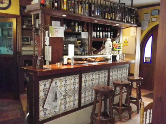 Meson Don Jimeno: Bar Area