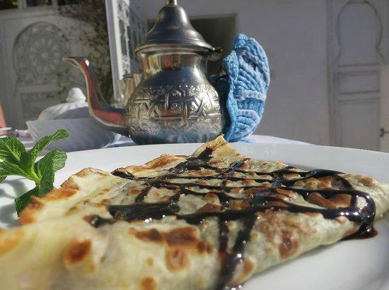 Riad Aguaviva: breakfast