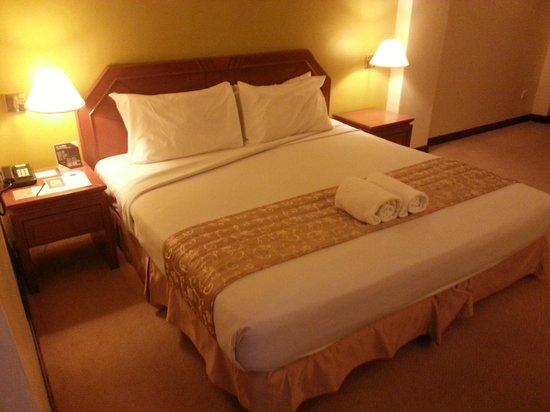 Swiss-Inn Sungai Petani: the bed