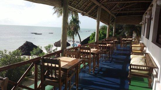 Blue Oyster Hotel: Restaurant mit Blick auf das Meer
