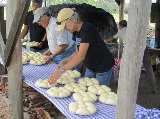 H.N. Greenwell Store Museum: Making the bread, one roll at a time