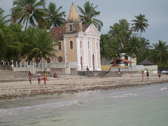 """Tamandare, PE : La famosa """" Igrejinha"""" - Praia de Tamandaré - Pernambuco"""
