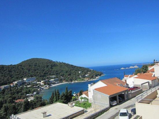 Villa Boro : Blick aus dem Balkon