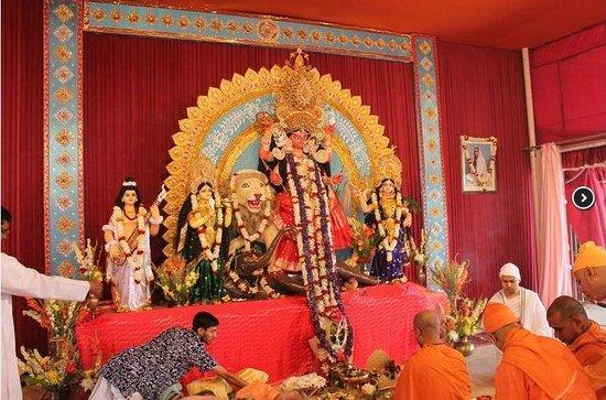 Kamarpukur, India: Jagaddhatri Puja at  Matri Mandir