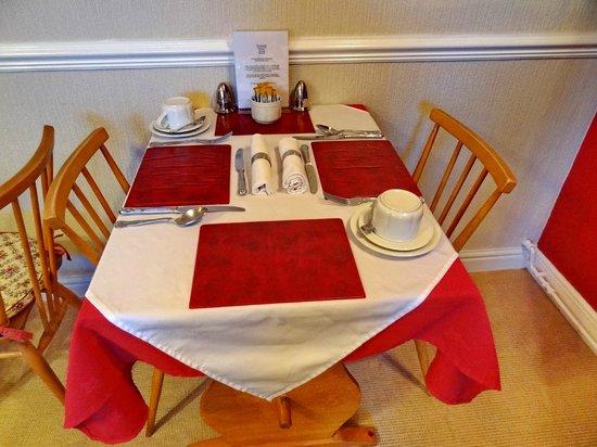 The Dunedin Guest House: завтрак