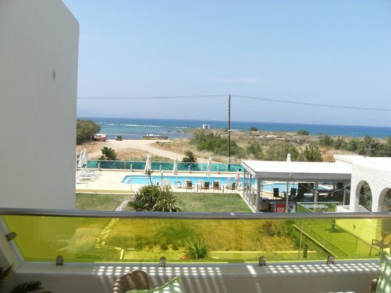 Princess of Naxos: View from 1st floor