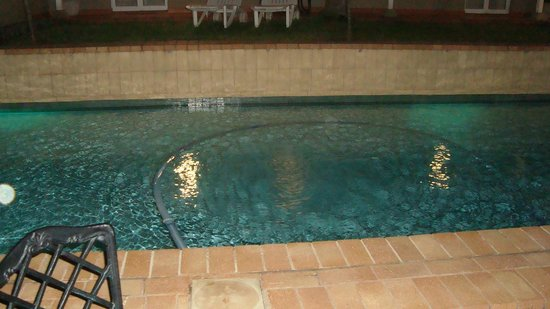 The Benjamin : Pool in the night...