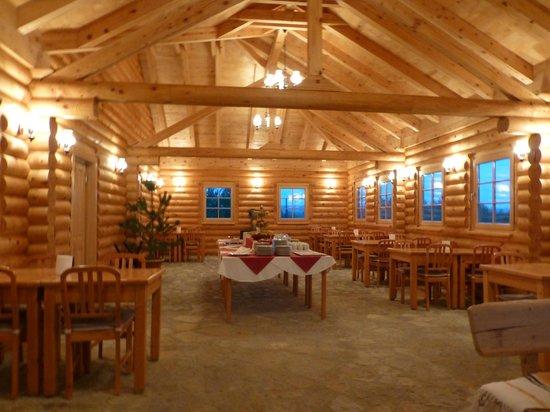 Plitvicka vila: leur chalet pour le ptt dej et diner