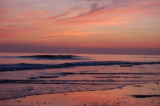Tywyn, UK: Sunset over the Cambrian coast