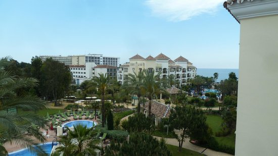 Marriott's Playa Andaluza: View from our balcony (a sea view - technically)