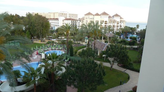 Marriott's Playa Andaluza: Looking across at another Marriott Apartment block