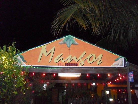 Mangos: Gevel restaurant
