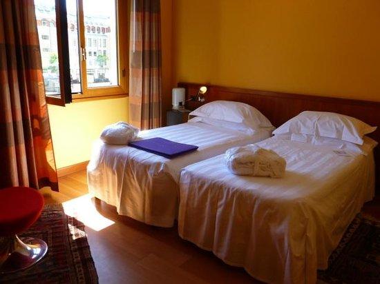 BEST WESTERN City Hotel: Notre chambre au 7e étage