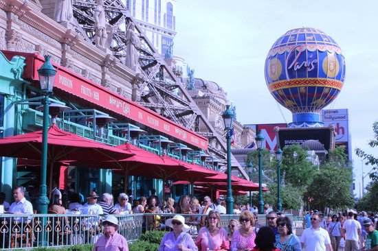 Mon Ami Gabi at Paris - great sidewalk Cafe - Picture of Flamingo Las Vegas Hotel & Casino, Las Vegas - Tripadvisor