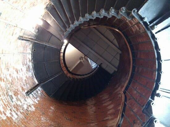 Highland Light : from the bottom of the lighthouse