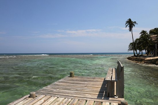 Long Caye Resort: Calming