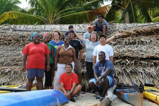 Long Caye Resort: Amazing Staff
