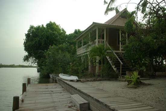 Silver Leaf Villa and Cabana: View of cabana with dock
