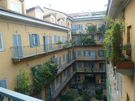 Hotel Liberty: patio interior