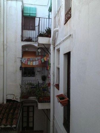 Hostal Residencia Rembrandt : vista cortile interno