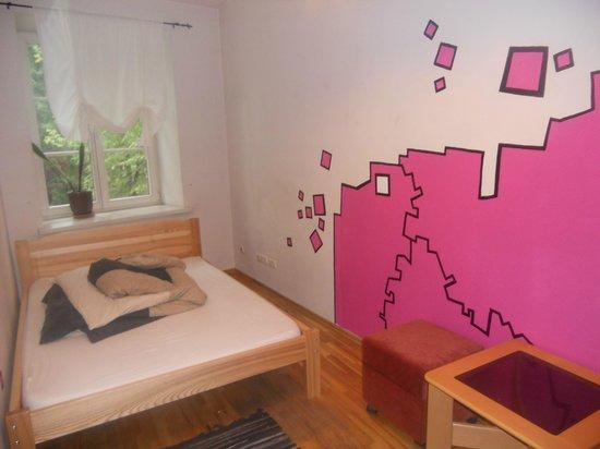 Pogo Hostel: Double room.
