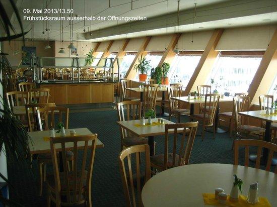 Ibis Graz: Frühstücksraum (ausserhalb der Öffnungszeiten)