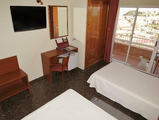 Hotel La Cumbre: Habitación doble estandar