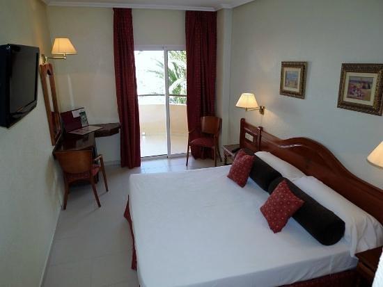 Hotel La Cumbre: Habitación matrimonio estandar
