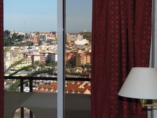 Hotel La Cumbre: Vistas desde la habitación
