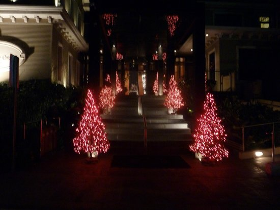 The Royal Corin Thermal Water Spa & Resort: Christmas decorations