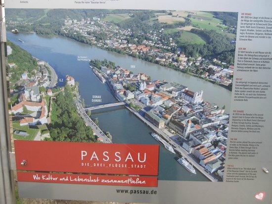 Hotel Residenz Passau: area map