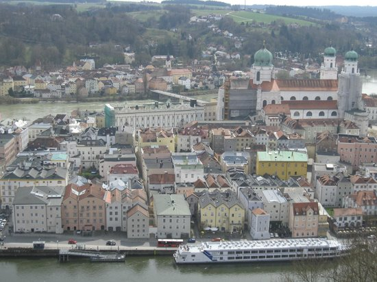 Hotel Residenz Passau : view from castle