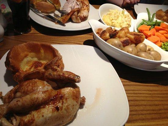 Fallow Deer: Half Roast Chicken Sunday Dinner