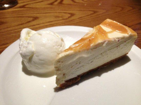 Fallow Deer: Irish Cream and Caramel Cheesecake