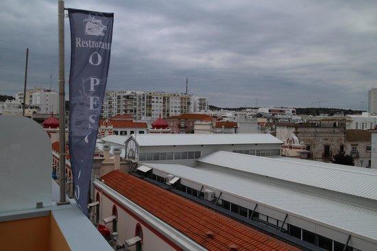 Hospedaria Dom Fernando: Вид с крыши отеля