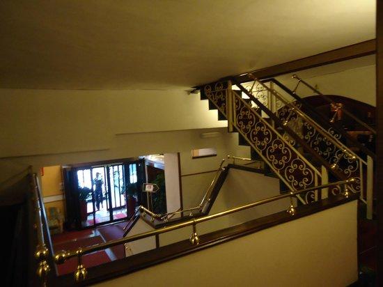 Hotel Oxford : vue d'étage