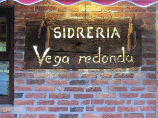 Sidreria Vega Redonda : Nombre