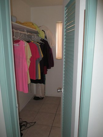 Castle by the Sea: closet space