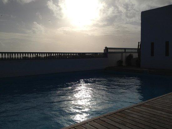 L'Heure Bleue Palais: Rooftop pool