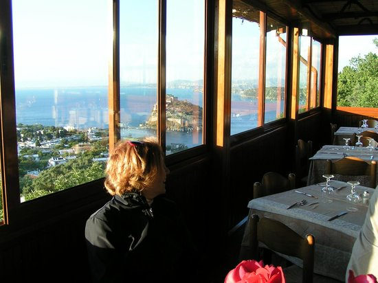 Hotel La Capannina: vista dal ristorante