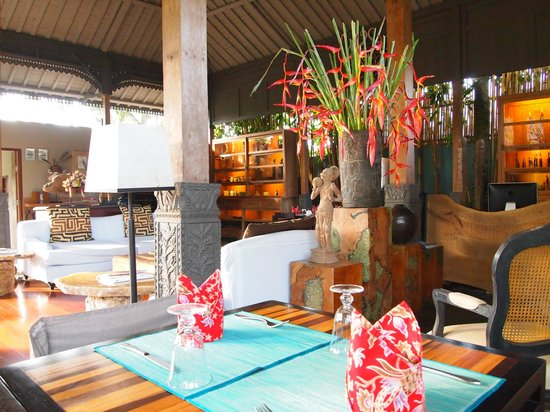 The Purist Villas and Spa : Communal area