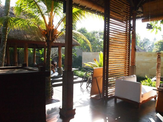 The Purist Villas and Spa: Communal area