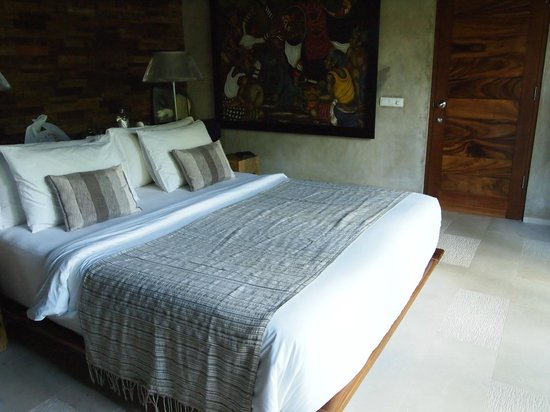 The Purist Villas and Spa: River 1 villa bedroom