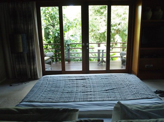The Purist Villas and Spa: River 1 villa view from bed