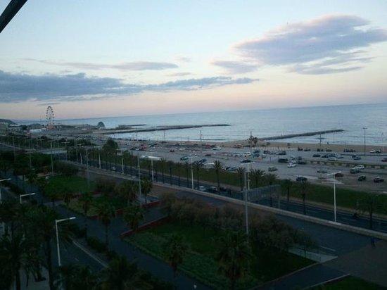 Occidental Atenea Mar - Adults only: Vista desde la habitación al aterdecer
