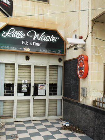 ‪The little waster bar‬