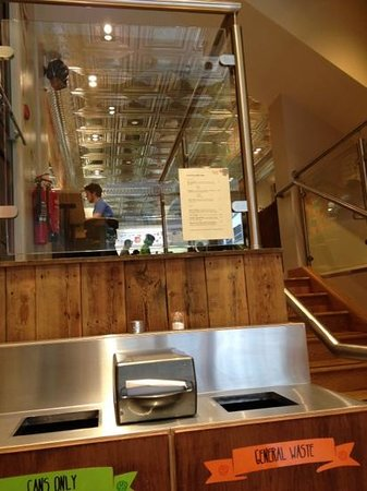 Tuzo Mexican Kitchen: View upstairs