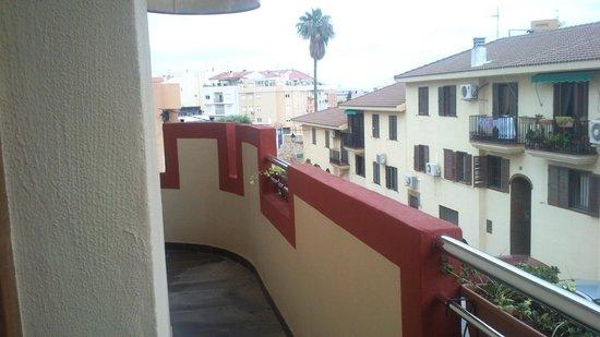 Hotel Castillo Denia : Balcón