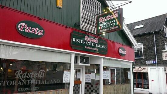 Rastelli's Pizzeria: Rastalli Frontage