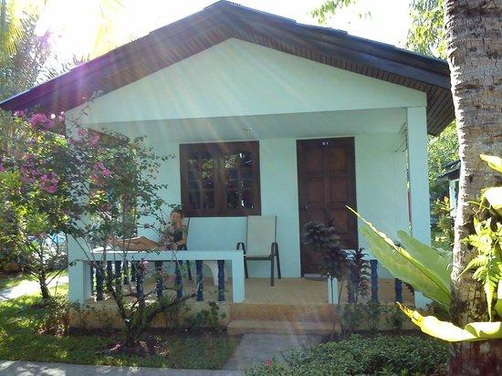 Sabai Resort: le B1! Notre bungalow!